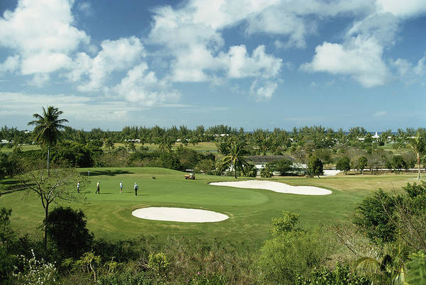 Outdoors Photograph - Lyford Cay Golf Course by Slim Aarons