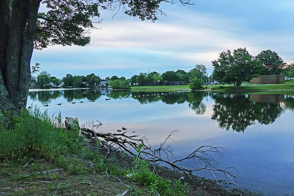 Wall Art - Photograph - Lynn Ma Flax Pond Sunrise Clouds by Toby McGuire