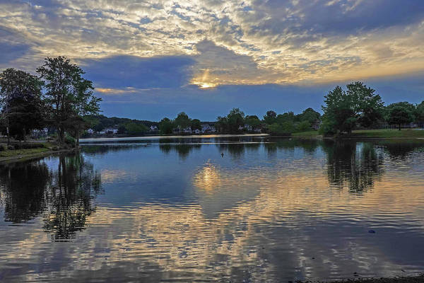 Photograph - Lynn Ma Flax Pond Sunrise by Toby McGuire