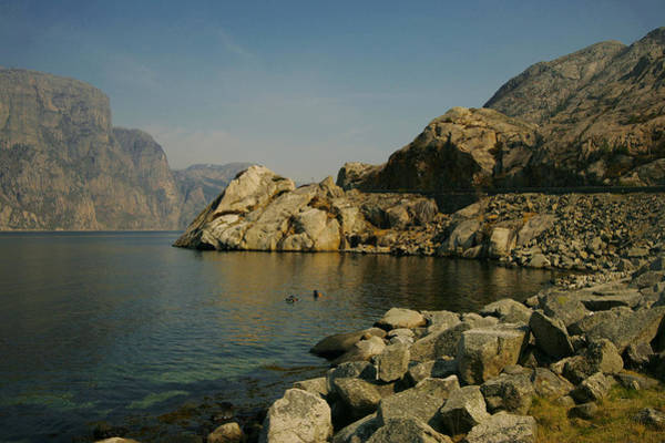 Wall Art - Photograph - Lysefjorden In Western Norway by Sindre Ellingsen