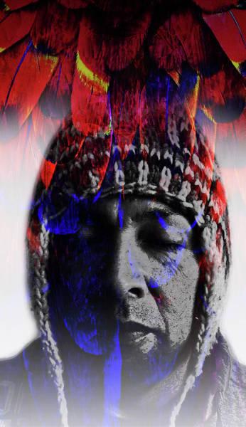Shaman Digital Art - M . A . C . A . W . by J  - O   N    E - 1
