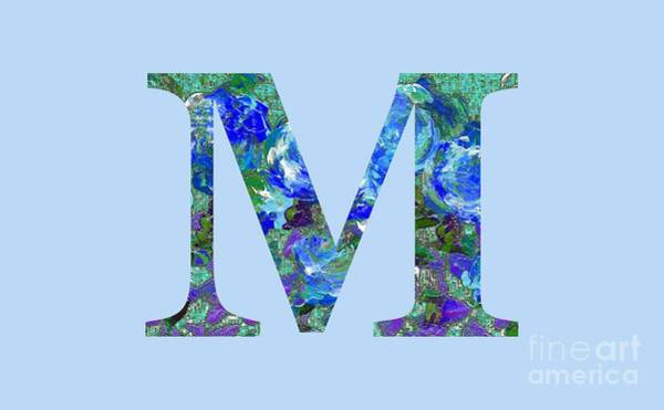 Digital Art - M 2019 Collection by Corinne Carroll