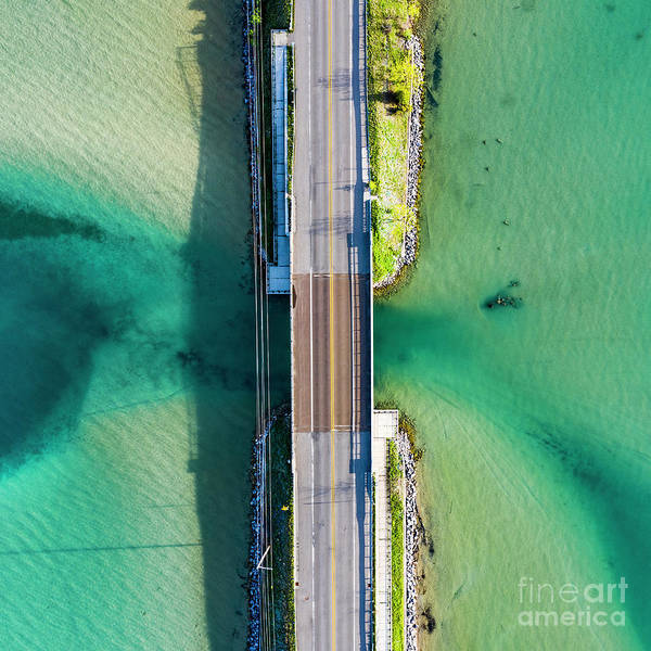 Wall Art - Photograph - M22 Aerial At Glen Lake by Twenty Two North Photography
