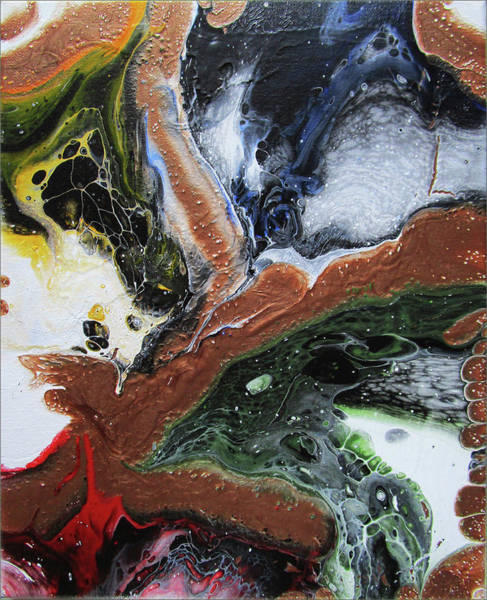 Wall Art - Painting - M.27 by Paul Kole