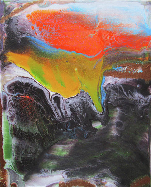 Wall Art - Painting - M.34 by Paul Kole