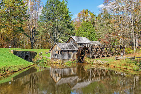 Photograph - Mabry Mill In Virginia by Jim Vallee