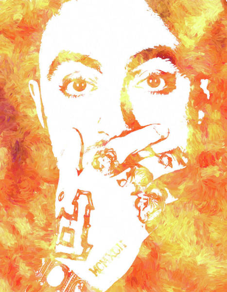 Wall Art - Painting - Mac Miller by Dan Sproul