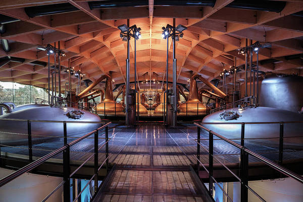 Photograph - Macallan Distillery by Dave Bowman