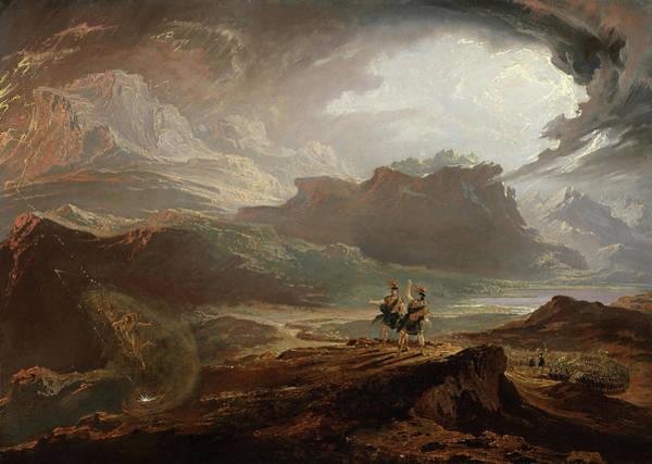 Wall Art - Painting - Macbeth, 1820 by John Martin