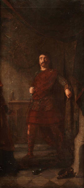 Wall Art - Painting - Macbeth by Scottish English painter of the 19th century