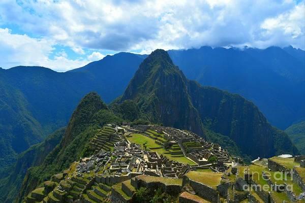 Digital Art - Macchu Picchu  by Michael Graham