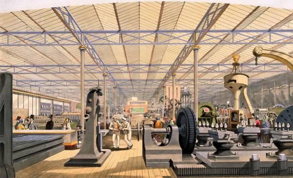 Exhibition Digital Art - Machine Display by Hulton Archive