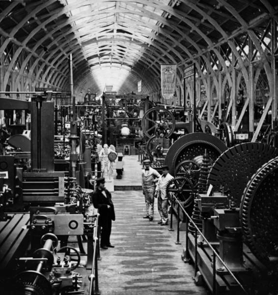 England Photograph - Machinery Exhibits by William England