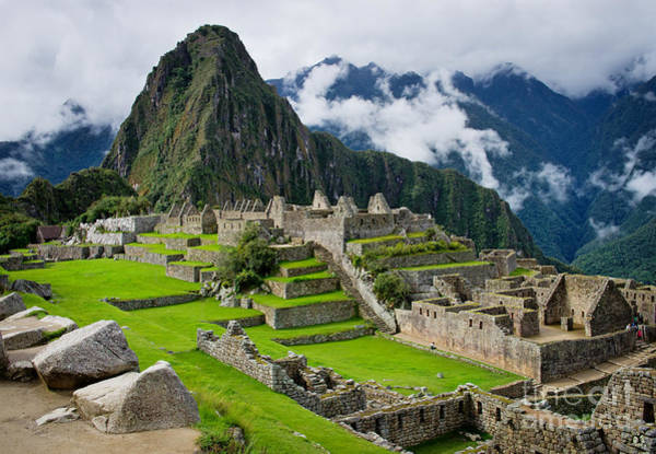 Wall Art - Photograph - Machu Picchu In Peru. Unesco World by Byelikova Oksana