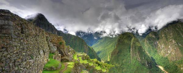 Indian Peaks Photograph - Machu Picchu Pano by Mac99