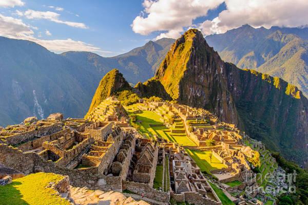 Machu Picchu Peru, Southa America, A Art Print