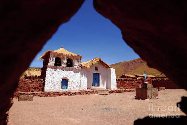 Photograph - Machuca Church San Pedro De Atacama Chile by James Brunker