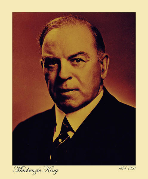 Photograph - Mackenzie King by Andrew Fare