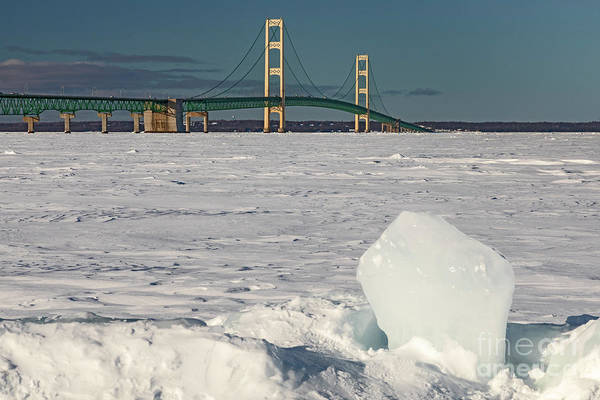 Photograph - Mackinac Bridge by Jim West