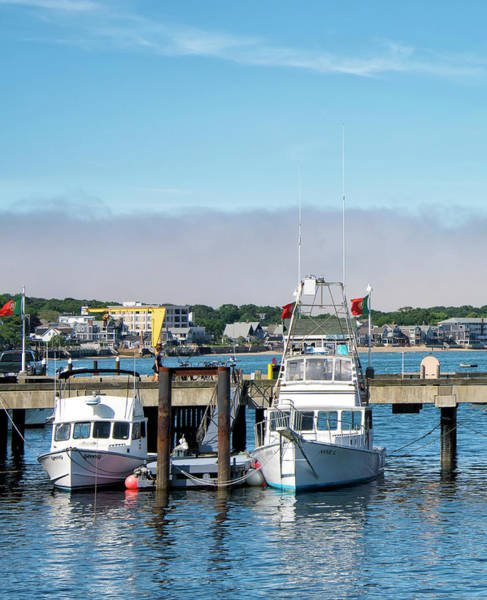Provincetown Ma Wall Art - Photograph - Macmillan Pier And Provincetown Harbor - Cape Cod by Brendan Reals