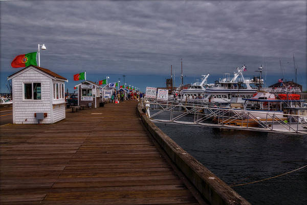 Photograph - Macmillan Wharf  Provincetown by Susan Candelario