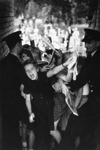 Restrain Photograph - Mad For Danny by Bert Hardy