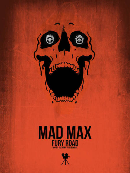 Wall Art - Digital Art - Mad Max Fury Road by Naxart Studio