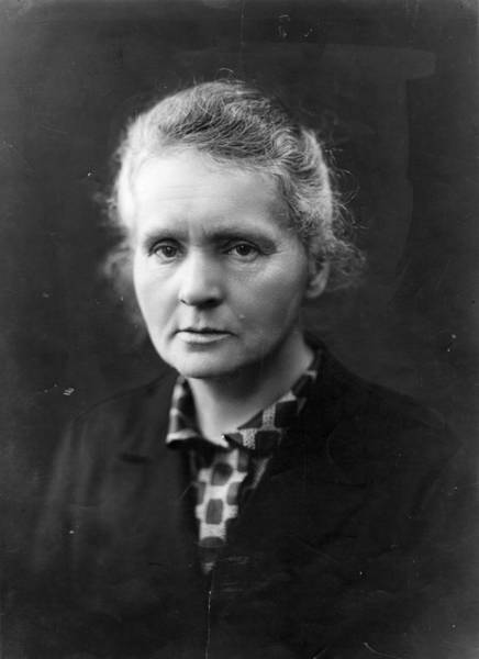 Physicist Photograph - Madam Curie by Henri Manuel