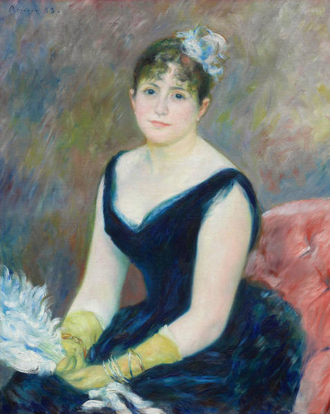 Painting - Madame Leon Clapisson by Auguste Renoir