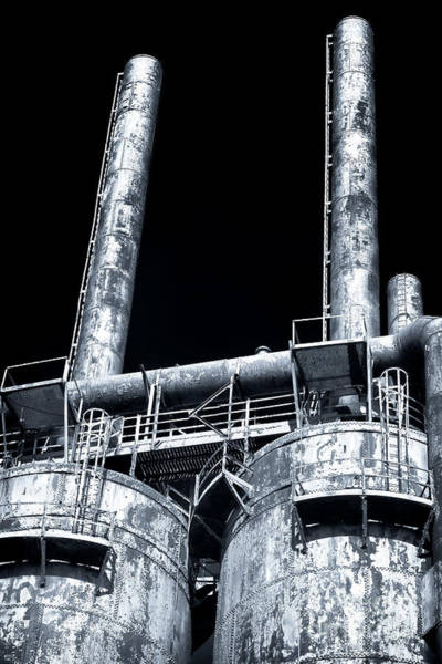 Photograph - Made In The Usa At Bethlehem Steel by John Rizzuto