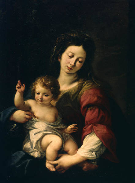Painting - Madonna And Child by Carlo Francesco Nuvolone
