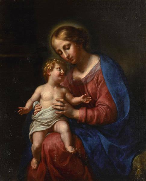 Painting - Madonna And Child by Onorio Marinari