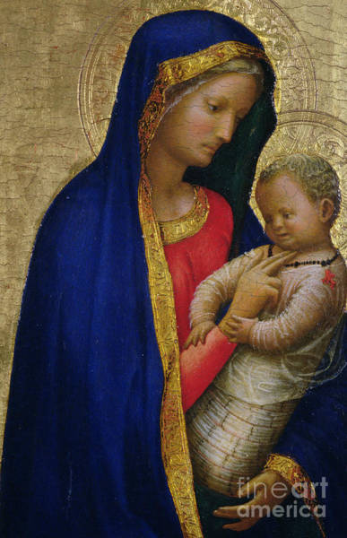 Wall Art - Painting - Madonna Casini  by Tommaso Masaccio