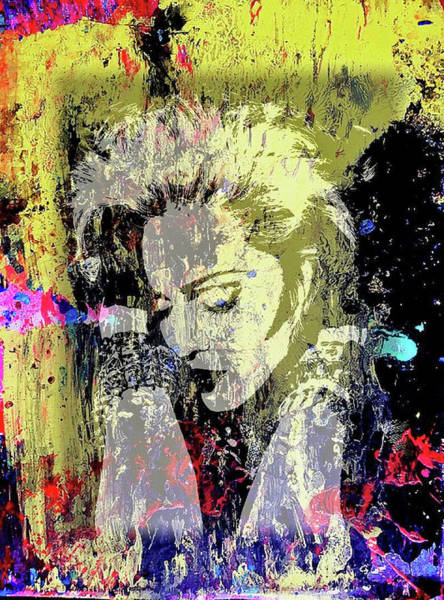 Mixed Media - Madonna by Jayime Jean