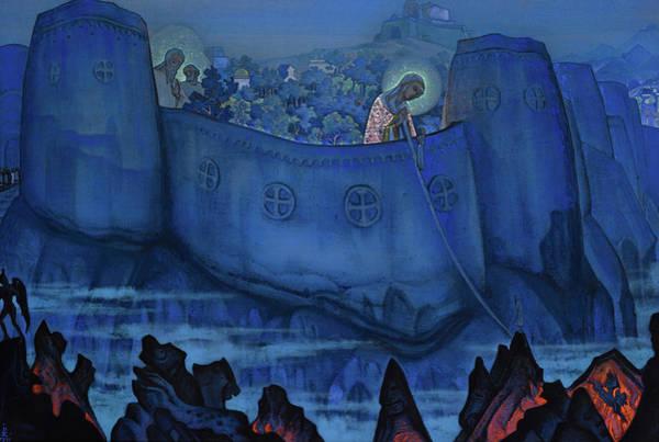 Wall Art - Painting - Madonna Laboris, 1931 by Nikolai Konstantinovich Roerich