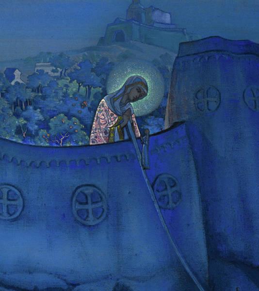 Wall Art - Painting - Madonna Laboris - Holy Virgin  by Nikolai Konstantinovich Roerich