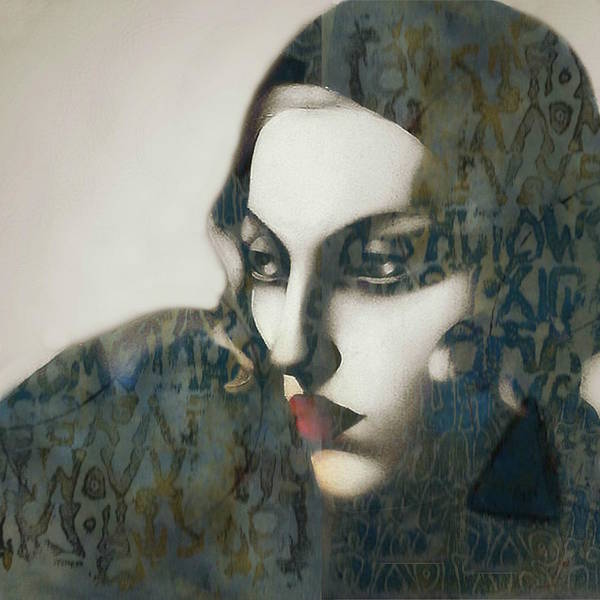 Wall Art - Mixed Media - Madonna - Material Girl by Paul Lovering