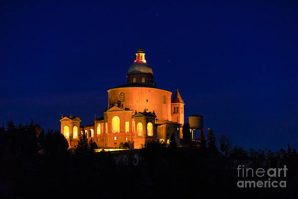 Photograph - Madonna Of San Luca Night by Benny Marty