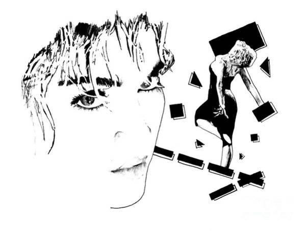 Wall Art - Digital Art - Madonna Sketch by Drawspots Illustrations
