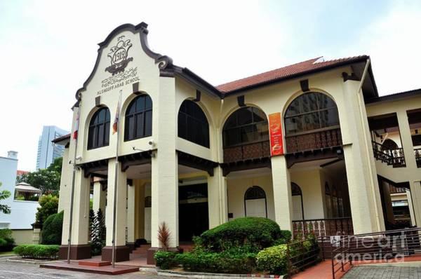 Photograph - Madrasah Alsagoff Arabic Islamic School Building Kampong Glam Singapore by Imran Ahmed