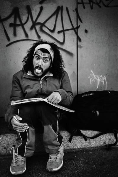 Lengua Wall Art - Photograph - Madrid 038 by Carlos Lazurtegui