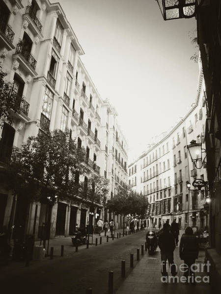 Photograph - Madrid Afternoon by Ana V Ramirez