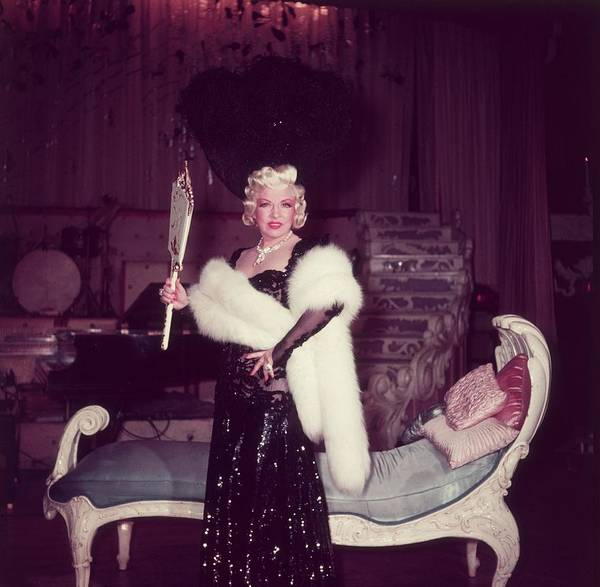 Photograph - Mae West by Baron