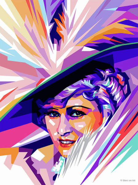 Wall Art - Digital Art - Mae West Pop Art by Stars-on- Art