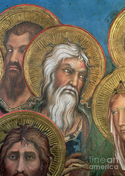 Wall Art - Painting - Maesta, Detail Of St Andrew, 1315 by Simone Martini