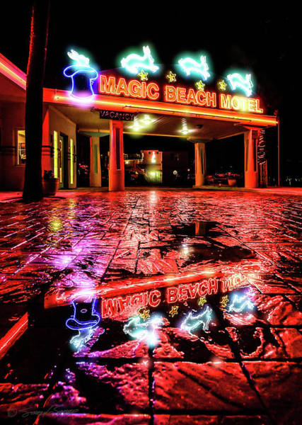 Photograph - Magic Beach Motel by Stacey Sather
