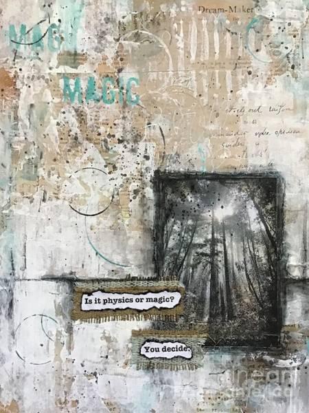 Painting - Magic? by Diane Fujimoto