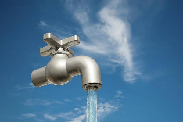 Faucet Photograph - Magic Faucet by Todd Klassy