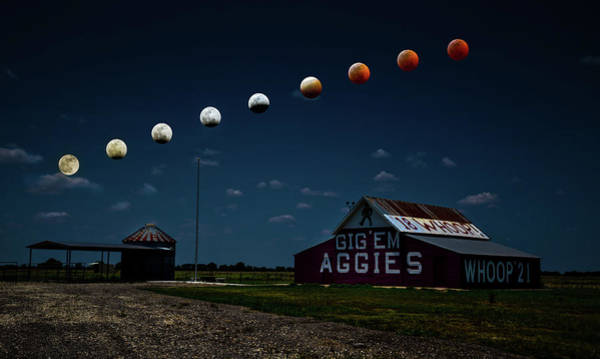 Wall Art - Photograph - Magic In The Texas Skies by Linda Unger