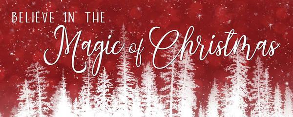 Wall Art - Mixed Media - Magic Of Christmas by Lori Deiter